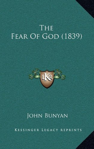 9781165181230: The Fear Of God (1839)