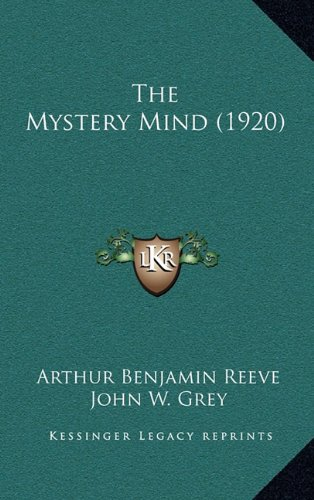 9781165226924: The Mystery Mind (1920)