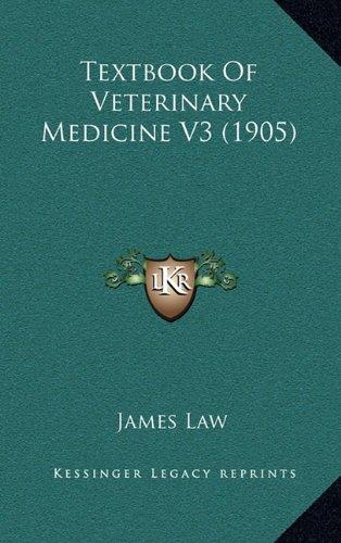 9781165243693: Textbook of Veterinary Medicine V3 (1905)