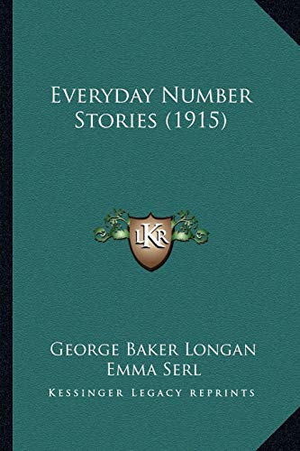 9781165335145: Everyday Number Stories (1915)
