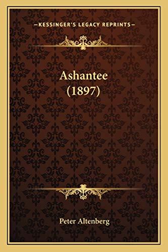 9781165339303: Ashantee (1897) (German Edition)