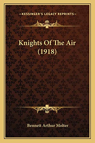 9781165378623: Knights Of The Air (1918)