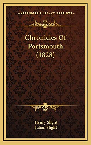 9781165394937: Chronicles Of Portsmouth (1828)