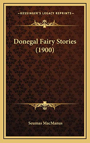 9781165451982: Donegal Fairy Stories (1900)