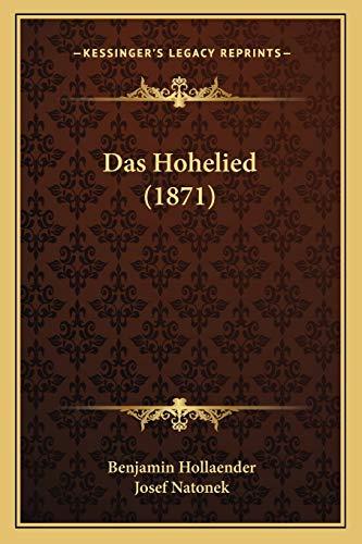 9781165471294: Das Hohelied (1871)