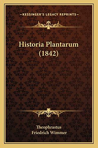 9781165491148: Historia Plantarum (1842) (Latin Edition)
