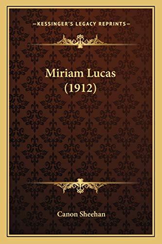 Miriam Lucas 1912: Canon Sheehan
