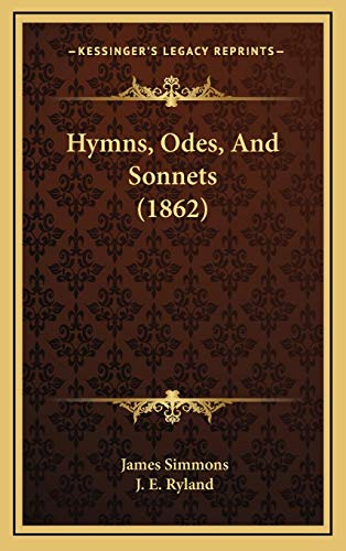 9781165502462: Hymns, Odes, And Sonnets (1862)