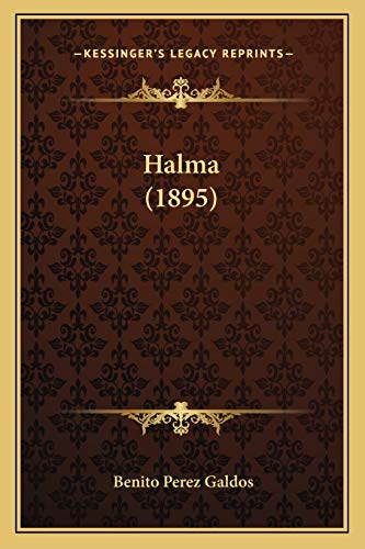 9781165545339: Halma (1895) (Spanish Edition)