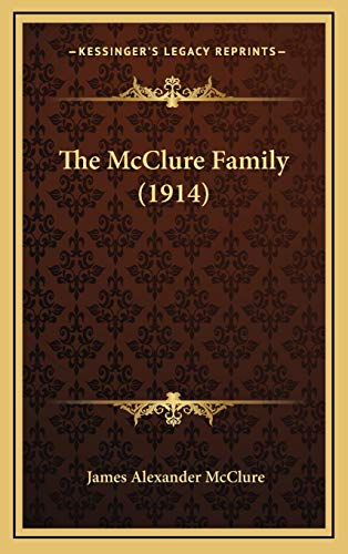 9781165563340: The McClure Family (1914)
