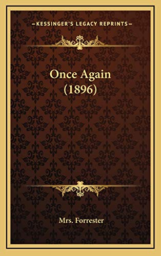 9781165567539: Once Again (1896)