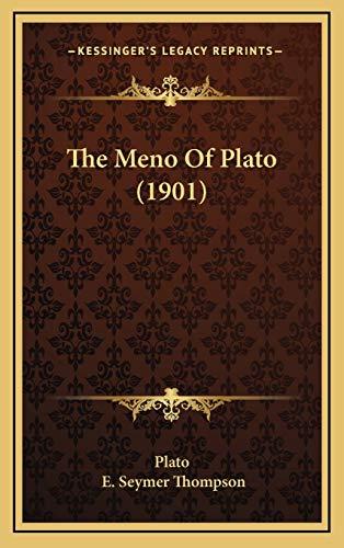 9781165571239: The Meno Of Plato (1901)