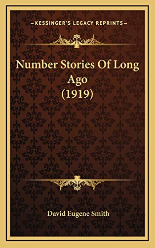 9781165622429: Number Stories Of Long Ago (1919)