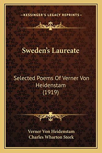 9781165665785: Sweden's Laureate: Selected Poems Of Verner Von Heidenstam (1919)