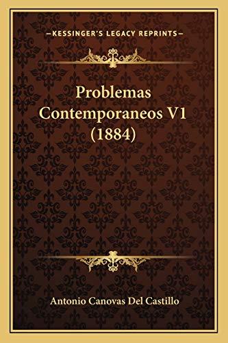 9781165697113: Problemas Contemporaneos V1 (1884) (Spanish Edition)
