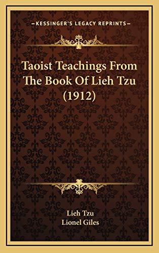 9781165703272: Taoist Teachings from the Book of Lieh Tzu (1912)