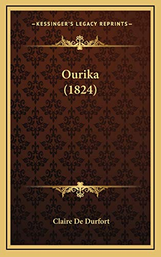 9781165710492: Ourika (1824) (French Edition)