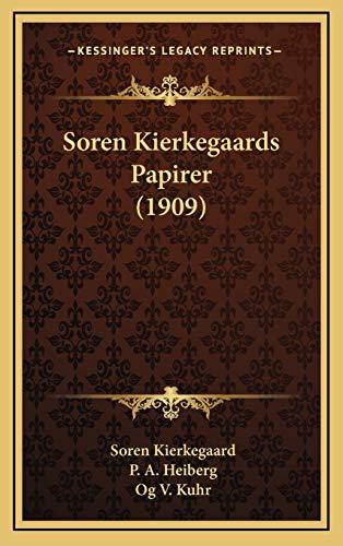 9781165733286: Soren Kierkegaards Papirer (1909) (Danish Edition)