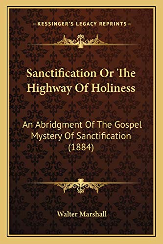 9781165758395: Sanctification Or The Highway Of Holiness: An Abridgment Of The Gospel Mystery Of Sanctification (1884)