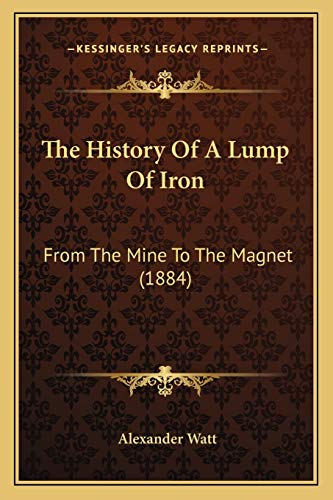 9781165762880: The History Of A Lump Of Iron: From The Mine To The Magnet (1884)