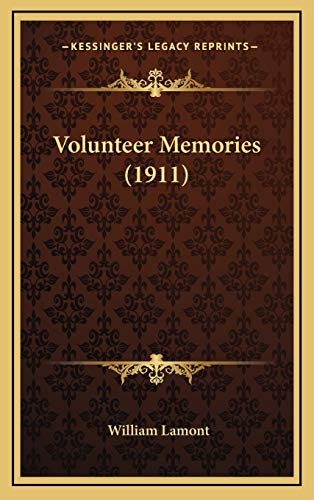 Volunteer Memories (1911) (1165840413) by William Lamont