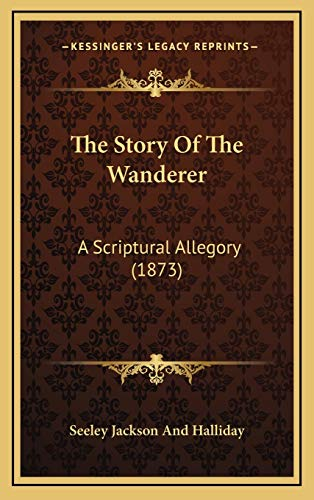 9781165841554: The Story Of The Wanderer: A Scriptural Allegory (1873)