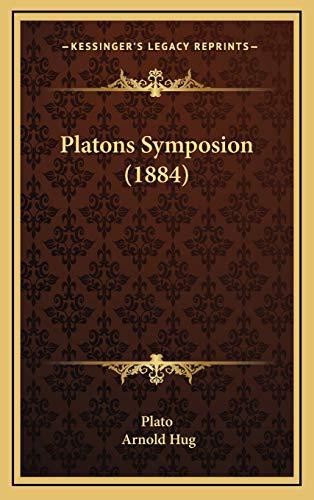 9781165850129: Platons Symposion (1884)