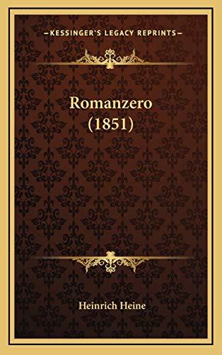 9781165854042: Romanzero (1851)