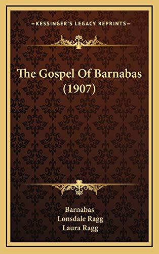 9781165872541: The Gospel Of Barnabas (1907)