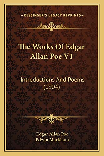 The Works Of Edgar Allan Poe V1: Introductions And Poems (1904) (9781165916047) by Edgar Allan Poe