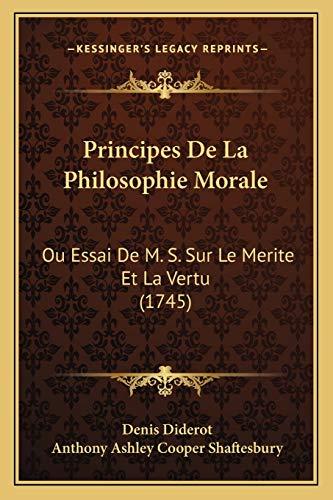 Principes De La Philosophie Morale: Ou Essai