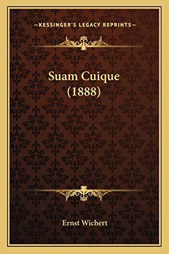 9781165937653: Suam Cuique (1888) (German Edition)