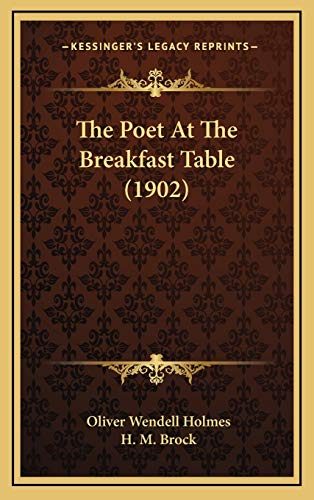 9781165987207: The Poet at the Breakfast Table (1902)