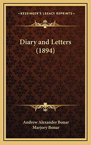 9781165992973: Diary And Letters (1894)