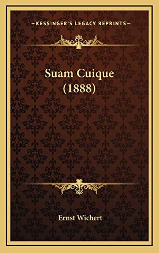 9781165993697: Suam Cuique (1888) (German Edition)