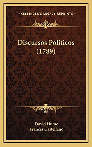 9781166086282: Discursos Politicos (1789) (Spanish Edition)