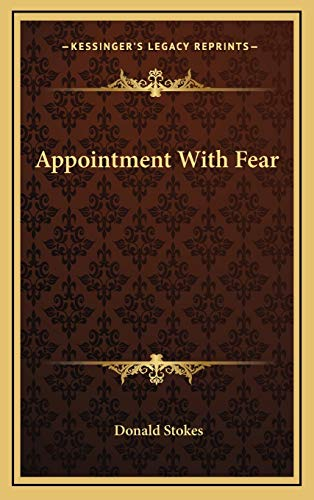9781166125769: Appointment With Fear