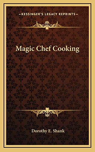 9781166126841: Magic Chef Cooking