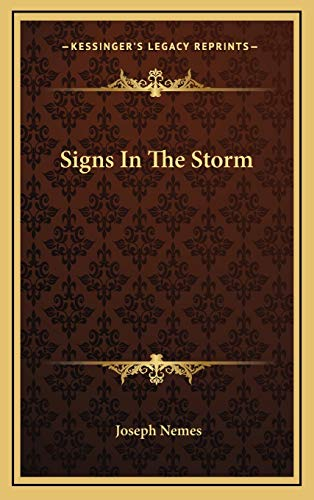 9781166127558: Signs In The Storm