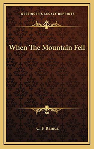 9781166127831: When The Mountain Fell