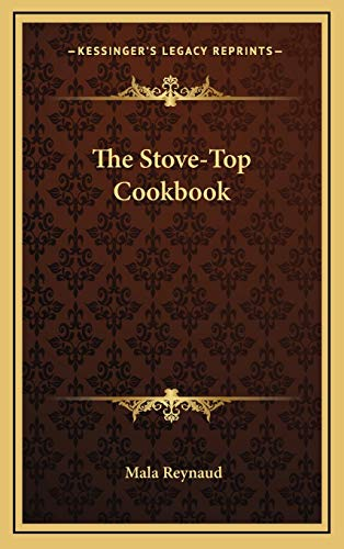 9781166128784: The Stove-Top Cookbook