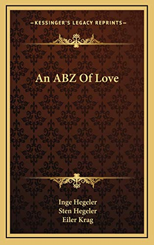 9781166131951: An ABZ Of Love