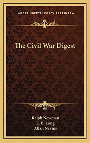 9781166132514: The Civil War Digest