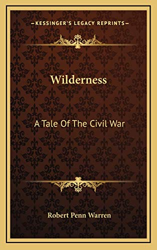 9781166133894: Wilderness: A Tale Of The Civil War