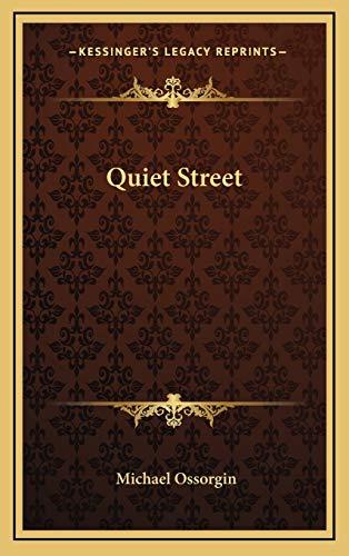 9781166135782: Quiet Street