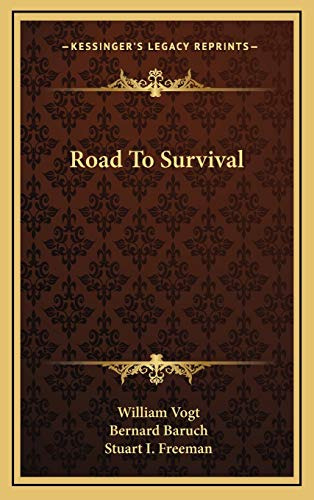 9781166135959: Road To Survival
