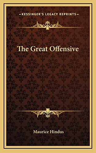 9781166136505: The Great Offensive