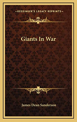 9781166137274: Giants In War