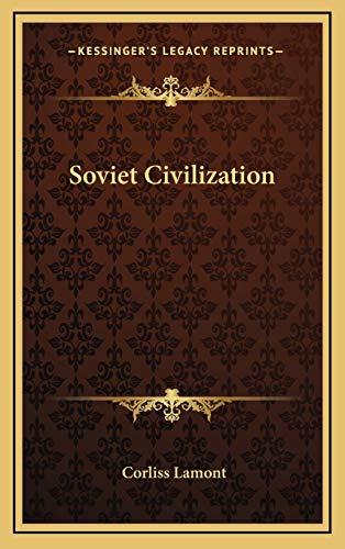 9781166138790: Soviet Civilization