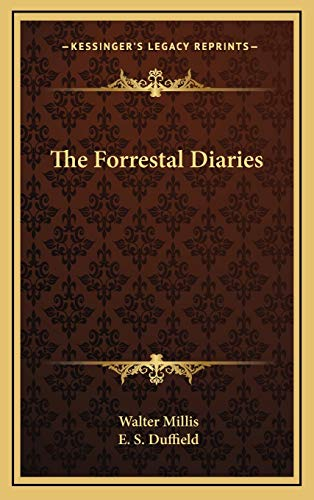 9781166140120: The Forrestal Diaries